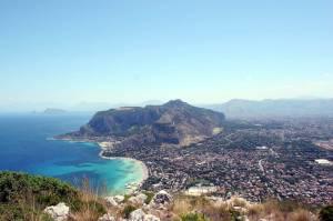 Vista su Palermo